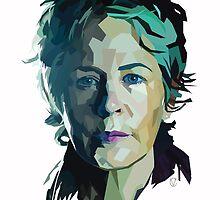 Geometric Carol by Valerie Canizales