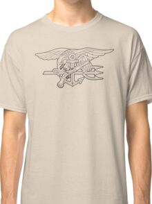 Navy SEALs outline Classic T-Shirt