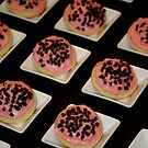 Sugar Cookies with Chocolate Chip Almond Icing by Brent McMurry