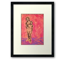 The Young Hopeful Framed Print