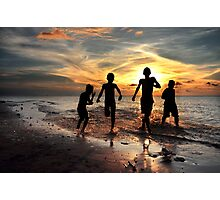 Feel Free #3 - Togetherness and friendship Photographic Print