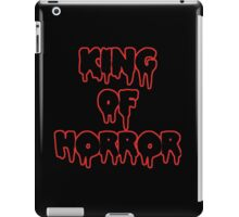King Of Horror iPad Case/Skin
