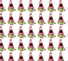 Surprised Patrick Star Pattern by godlymagikarp