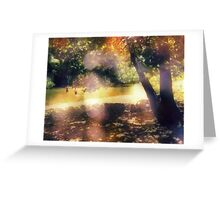 memories full of summers slowly slipping away Greeting Card