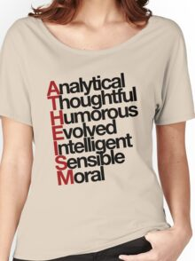 Atheism - (Black) Women's Relaxed Fit T-Shirt