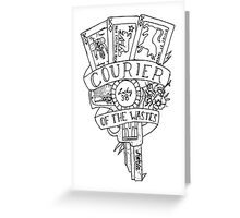 fallout new vegas flash (black variant) Greeting Card