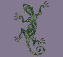 Lizard Tattoo -textured Kids Tee