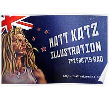 Matt Katz Illustration Propoganda Poster