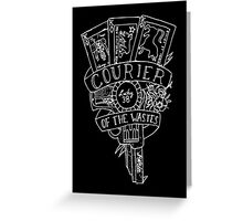fallout new vegas flash (white variant) Greeting Card