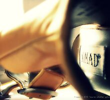 YELLOW HEELS by Laura E  Shafer