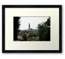 Nerac, France Framed Print
