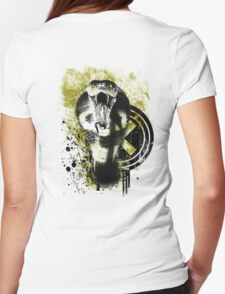 Deadly Sting of King Cobra Womens Fitted T-Shirt