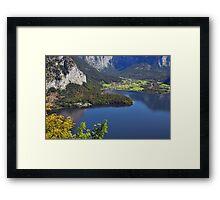 Obertraun Framed Print