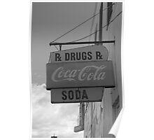 Soda, Drugs & Coca Cola Poster