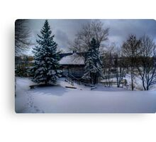 Grant's Old Mill (Winter View) Canvas Print