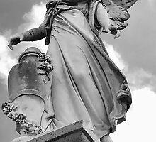 Black and white angel by LeeDukes