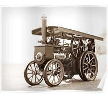 Olive the Traction Engine Poster