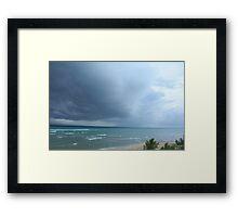 half sun, half storm Framed Print