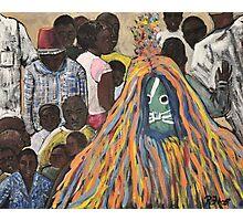 Burkina Faso Mask Dance Photographic Print