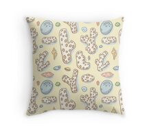 Beach Treasures Throw Pillow