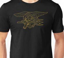 Navy SEALs gold outline Unisex T-Shirt