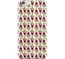 Surprised Patrick Star Alternate Pattern iPhone Case/Skin