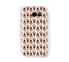 Surprised Patrick Star Alternate Pattern Samsung Galaxy Case/Skin