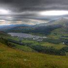 Schiehallion Loch Tummel by Paul  Gibb