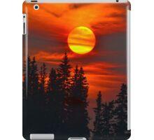 Cariboo Wildfire Sun iPad Case/Skin