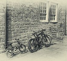 Bicycles by inkedsandra