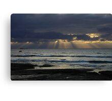 Heavens Rays Canvas Print