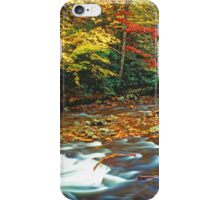 LITTLE RIVER,AUTUMN iPhone Case/Skin