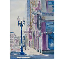 10TH and Washington or The Carpet Seller Photographic Print