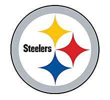 Pittsburgh Steelers Logo Photographic Print