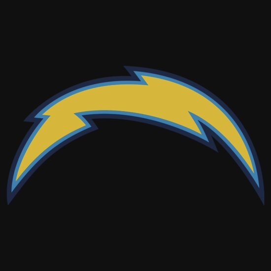 San Diego Chargers Car Decals: San Diego Chargers Design & Illustration: Stickers