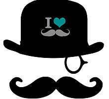 I Love Mustache's  by Gypsykiss