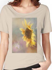Be The Sunflower - Sunflower Art Women's Relaxed Fit T-Shirt