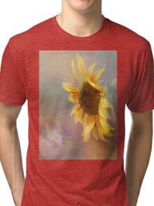 Be The Sunflower - Sunflower Art Tri-blend T-Shirt