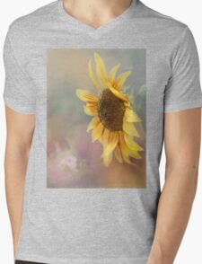 Be The Sunflower - Sunflower Art Mens V-Neck T-Shirt