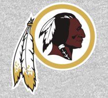 Washington Redskins Logo One Piece - Long Sleeve