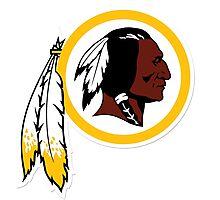 Washington Redskins Logo Photographic Print