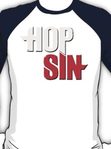 HOPSIN (GREY & RED) T-Shirt