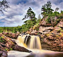 Rogie Falls by John Ellis