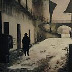 Original work Entering the Ghetto by Roman Vishniac by Jsimone