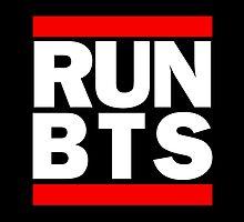 BTS Bangtan Boys 'RUN BTS' by PaolaAzeneth
