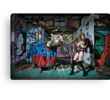 Fashion in Graffiti - Part I Canvas Print