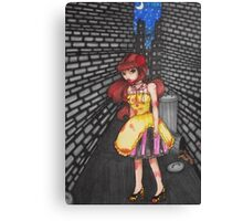 See You in the Alley. We'll See Who's Still Talking When We're Through Canvas Print