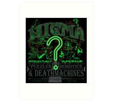 Nigma Deathtraps Art Print