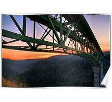 California's Tallest Bridge Poster