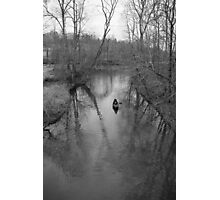 solo paddle Photographic Print